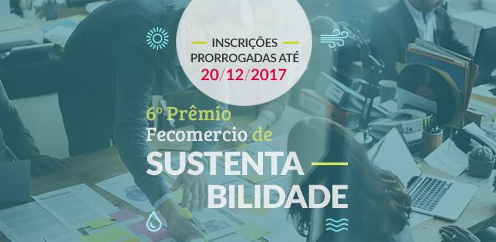 6º prêmio Fecomercio de Sustentabilidade