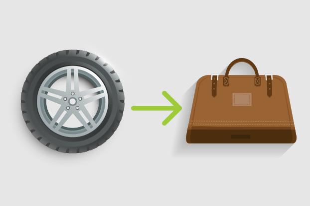 Material reciclável é usado como matéria-prima na moda e na construção