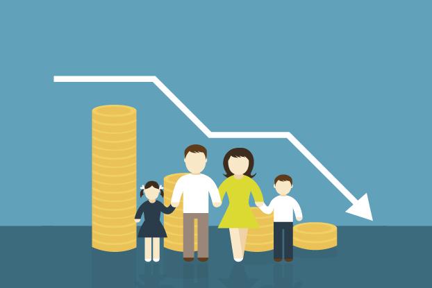 Inflação pode ter rebaixado nível social de 1,2 milhão de famílias