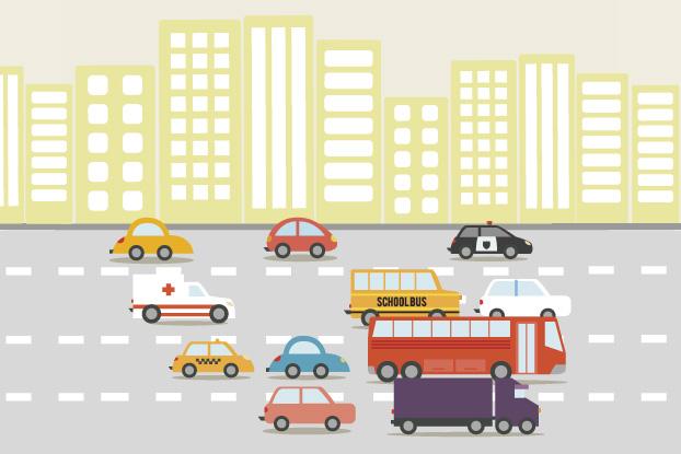 1h44 é o tempo médio gasto pelo paulistano no trânsito na cidade