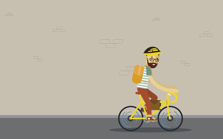 """""""Bikeboy"""" incrementa mercado de negócios sustentáveis"""