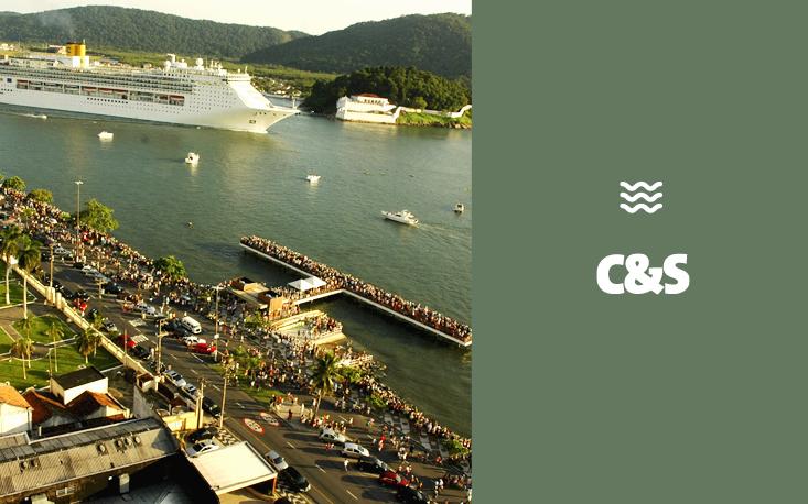 Turismo de lazer ganha espaço e Santos cresce além do porto