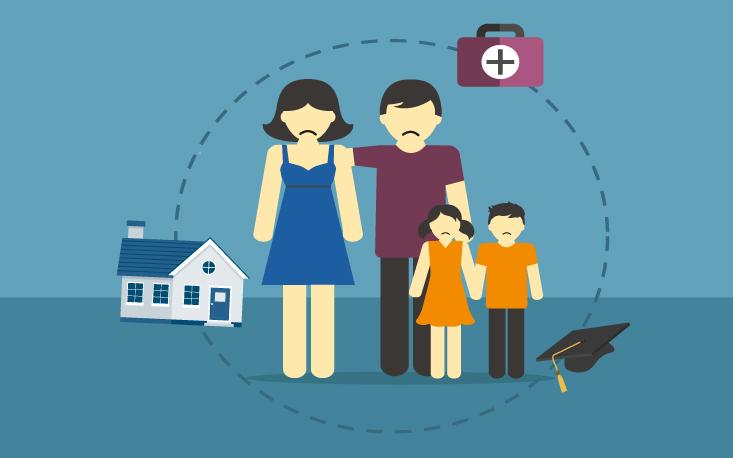 Crise econômica resulta em regressão do padrão social das famílias