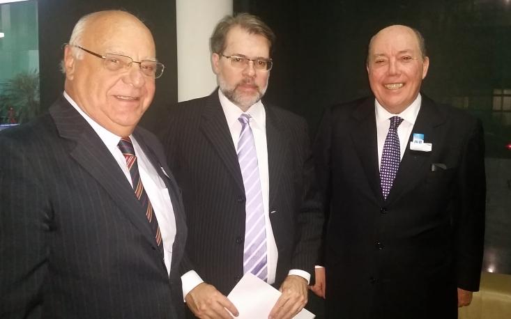 FecomercioSP trata com ministro Dias Toffoli dos entraves trazidos pelo Convênio Confaz ICMS 93/2015