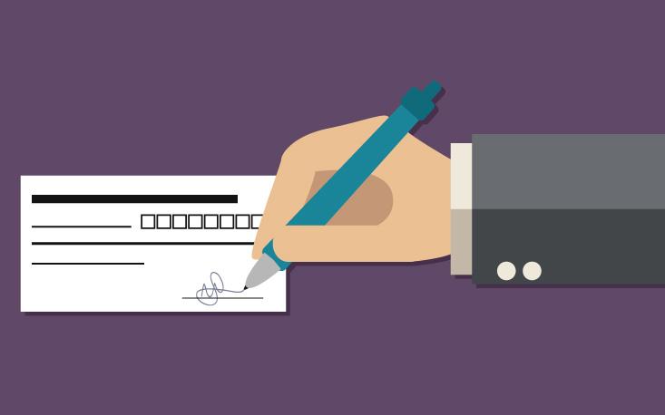 Veja as regras para apresentar cheques pós-datados