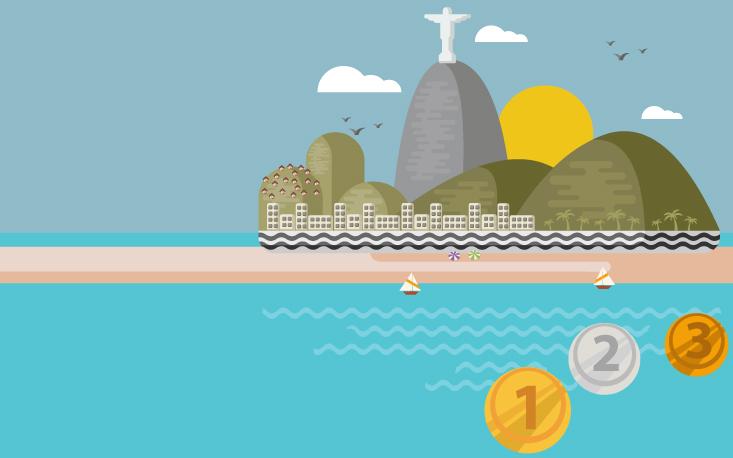 Retorno financeiro das Olimpíadas depende da imagem que o Brasil passe ao mundo