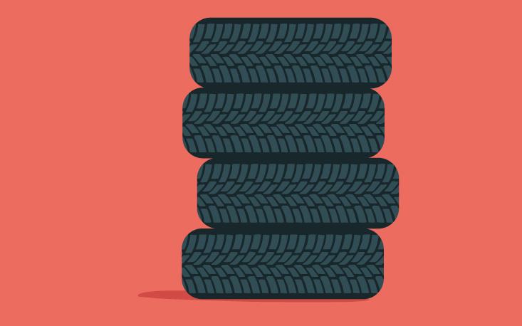 Logística reversa de pneus usados evita descarte irregular no meio ambiente