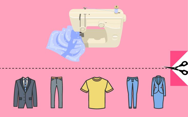 Crise aumenta demanda por reforma de roupas