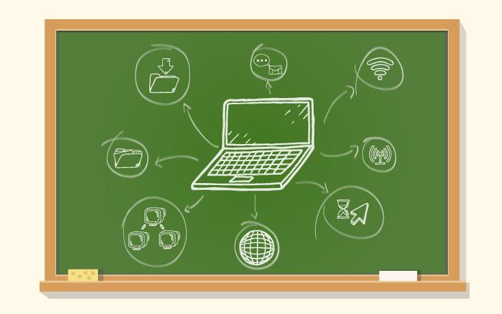Educação digital no dia a dia dos alunos