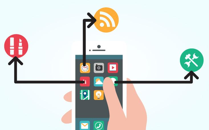 Aplicativos de celular expandem negócios do setor de serviços