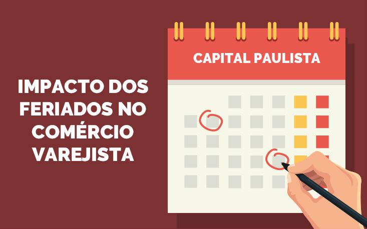 Feriados devem causar perdas de R$ 1,1 bilhão ao varejo paulistano neste ano