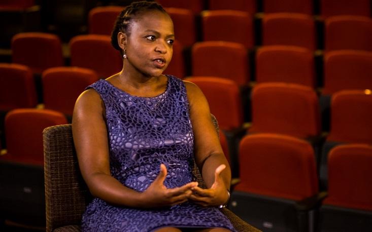 """""""As pessoas devem escolher um governo que promova inclusão"""", diz Flora Mokgohloa"""