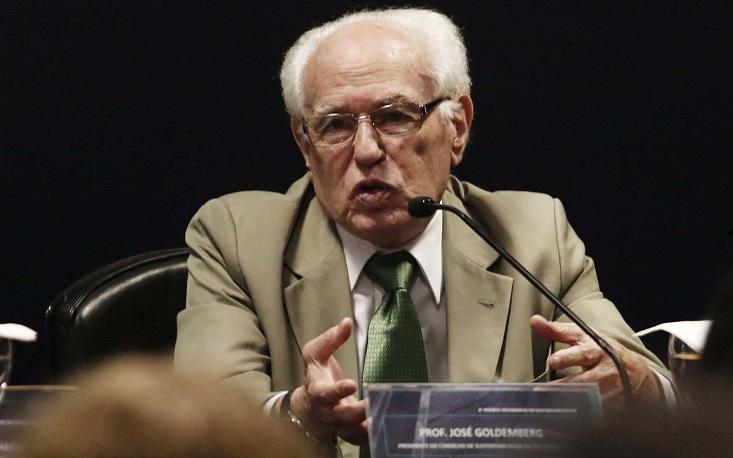 """""""Ampliamos o escopo do Prêmio Fecomercio de Sustentabilidade"""", diz José Goldemberg"""