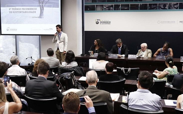 Federação lança o 6º Prêmio Fecomercio de Sustentabilidade