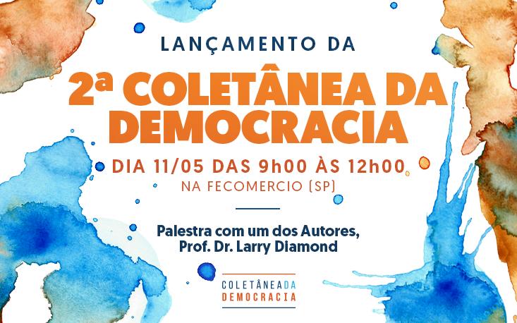 Instituto Atuação lança 2ª Coletânea da Democracia na FecomercioSP