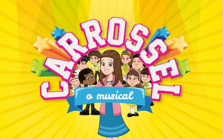 """Curta temporada: """"Carrossel, o Musical"""" traz ao Teatro Raul Cortez os queridos personagens da Escola Mundial"""