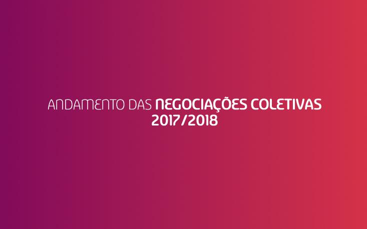 Acompanhe o andamento das Negociações Coletivas 2017-2018