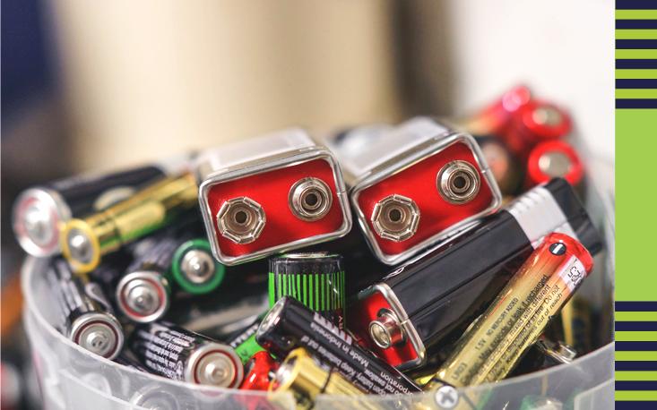Sincomercio recolhe 200 quilos de pilhas e baterias na Baixada Santista