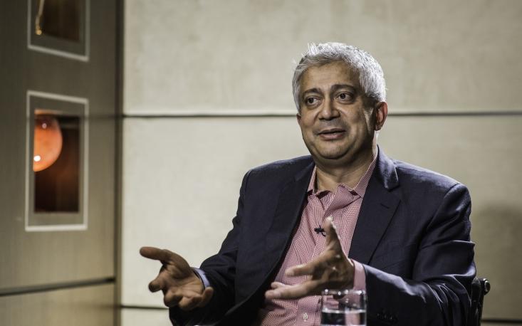 """Todo mundo pode ser como Steve Jobs ou Bill Gates"", diz Hitendra Patel"
