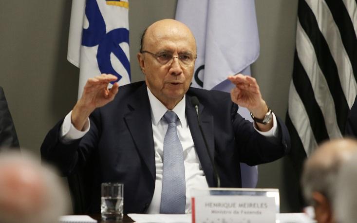 """""""Não há dúvidas de que a recessão ficou para trás"""", diz Meirelles na FecomercioSP"""