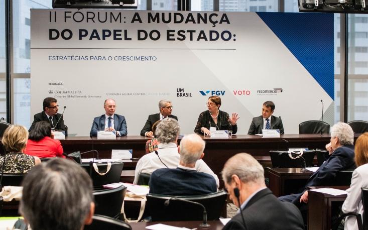 FecomercioSP recebe fórum sobre mudanças do papel do Estado