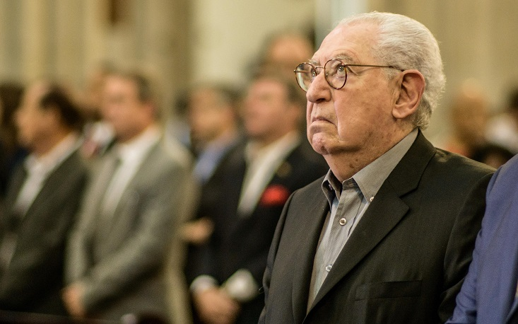 Presidente da FecomercioSP participa de ato contra a corrupção na Catedral da Sé