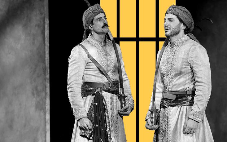 """Famosos e fãs prestigiam Gianecchini e Tozzi na estreia do espetáculo """"Os guardas do Taj"""" no Teatro Raul Cortez"""