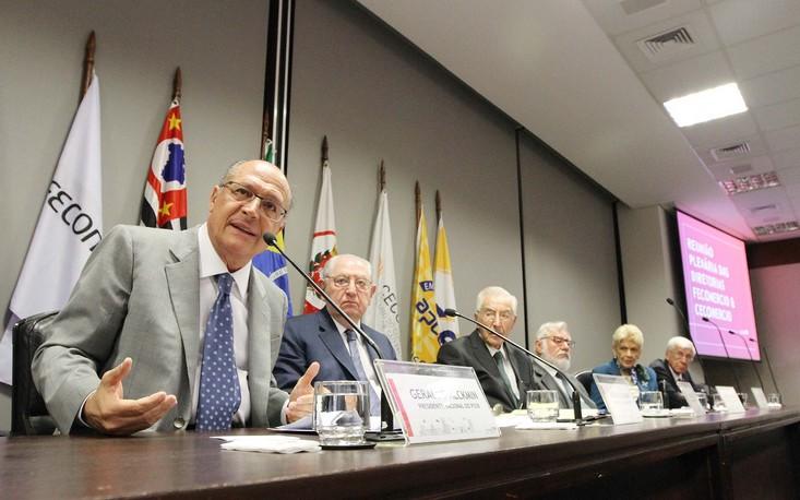 Ex-governador Geraldo Alckmin defende agenda de reformas na FecomercioSP