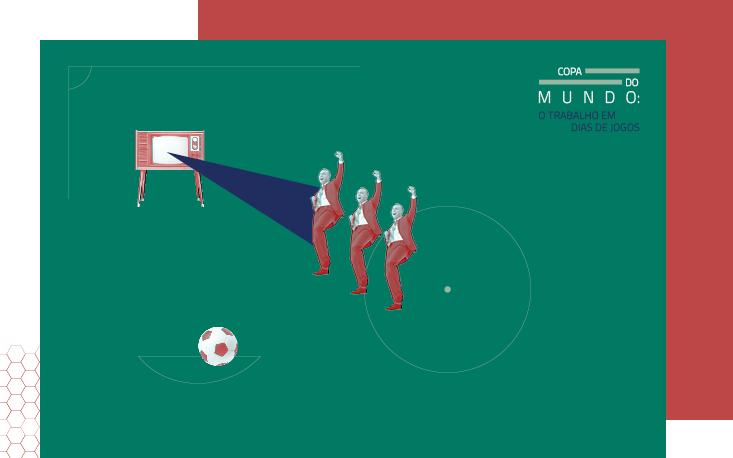 Copa do Mundo 2018: FecomercioSP orienta empregador em caso de falta e embriaguez