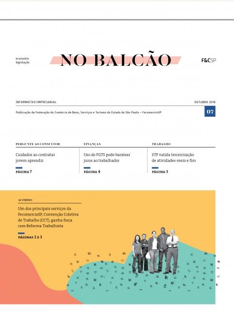 No Balcão