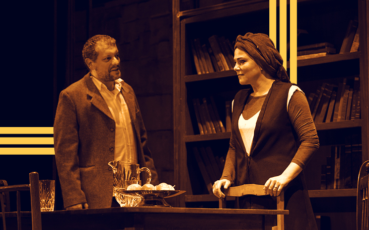 "Com Viviane Pasmanter e Marcello Airoldi, peça ""Amor Profano"" estreia no Teatro Raul Cortez"