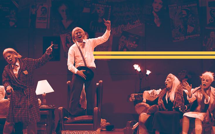 """""""Forever Young"""" abre terceira temporada no Teatro Raul Cortez com casa cheia"""