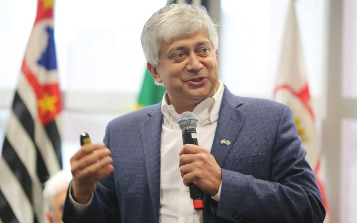 """""""Pequenas empresas têm boas condições para inovar"""", afirma Hitendra Patel na FecomercioSP"""