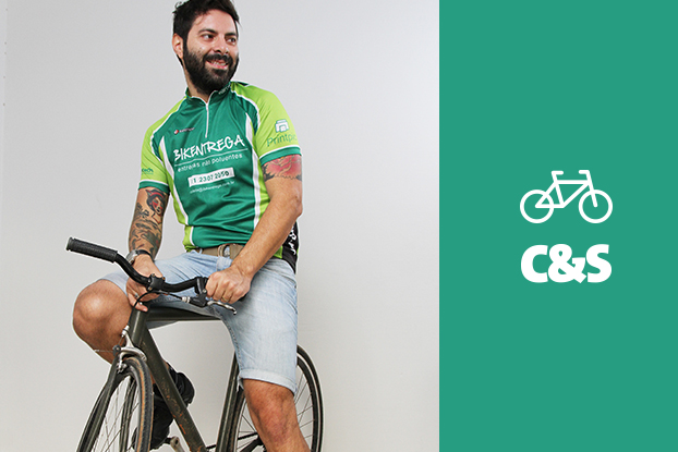 Empresas apostam nas bicicletas para agilizar o serviço de entregas