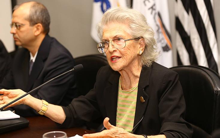 Dra. Maria Garcia (Diretora geral do IBDC - Instituto Brasileiro De Direito Constitucional) - Foto: Fernando Nunes