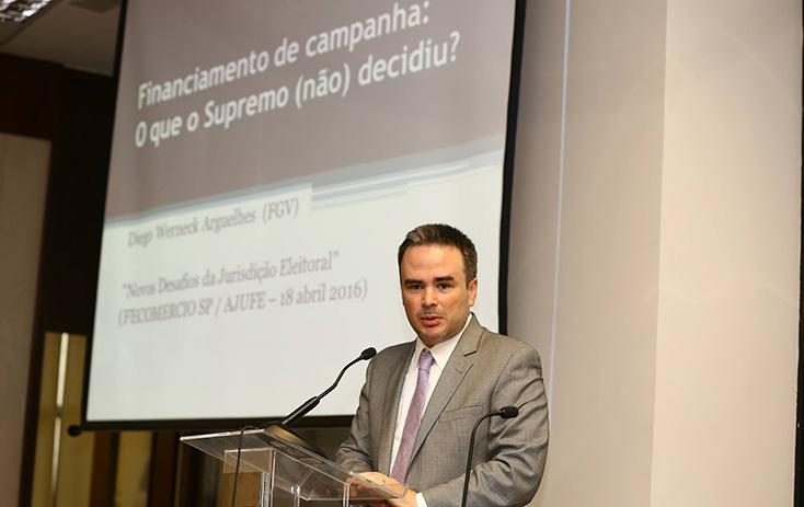 Dr. Diego Werneck, da FGV-RJ - Foto: Fernando Nunes