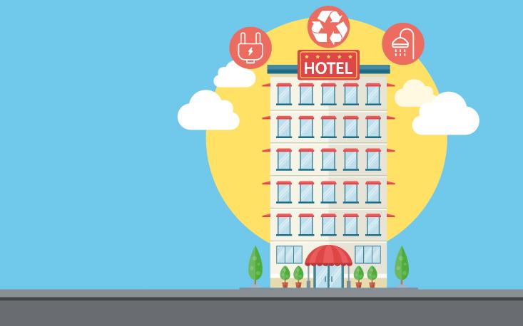Hotéis com práticas mais sustentáveis podem reduzir custos e atrair clientes