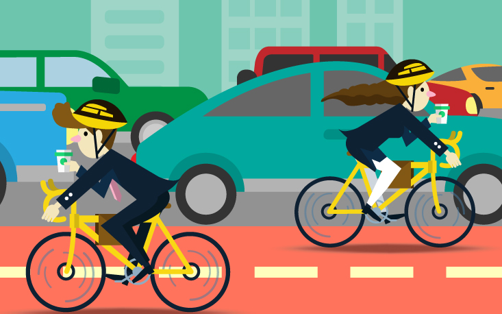 Paulistanos que se locomoverem de bicicleta terão incentivo em forma de créditos