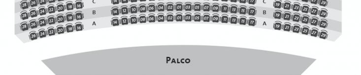 Mapa de assentos