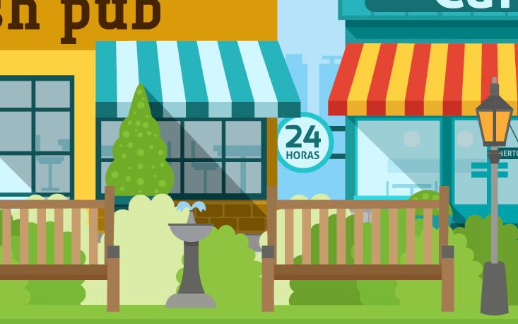 Áreas verdes atraem clientes para negócios do entorno