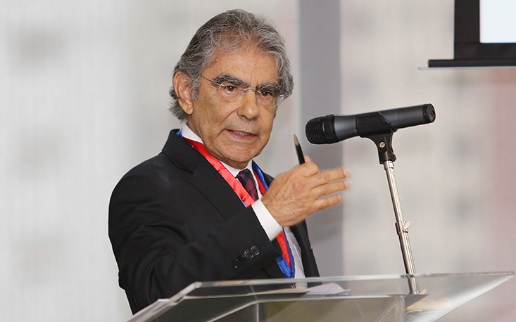 Ex-ministro Carlos Ayres Britto toma posse como membro da Academia Internacional de Direito e Economia na FecomercioSP
