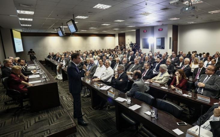 FecomercioSP recebe prefeito eleito de São Paulo em encontro com empresários