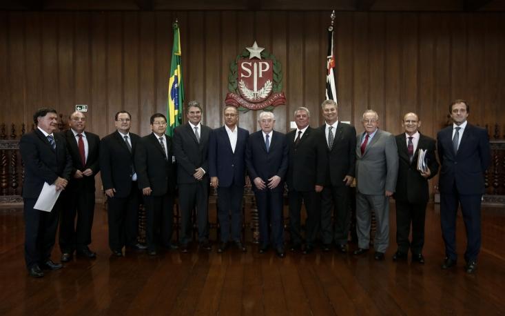 FecomercioSP e sindicatos filiados se reúnem com governador Geraldo Alckmin