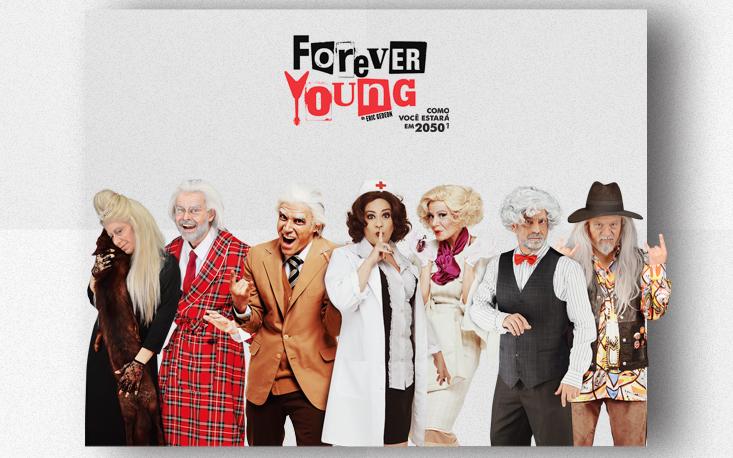 Forever Young volta ao Teatro Raul Cortez em 5 de maio