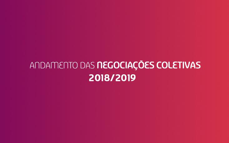 Acompanhe o andamento das Negociações Coletivas 2018-2019