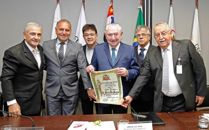 Presidente da FecomercioSP recebe título de Cidadão Mariliense