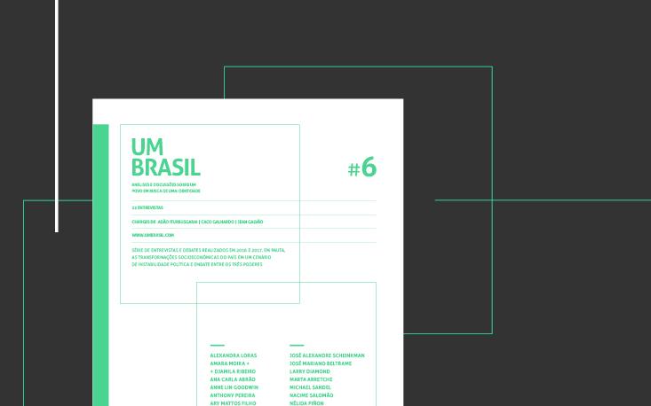 Livro UM BRASIL #6 é finalista do prêmio internacional Fundacom
