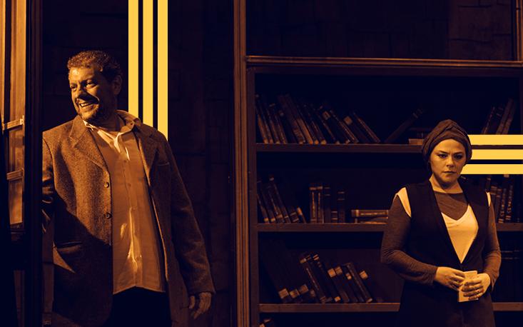 """Último fim de semana de """"Amor Profano"""" no Teatro Raul Cortez"""