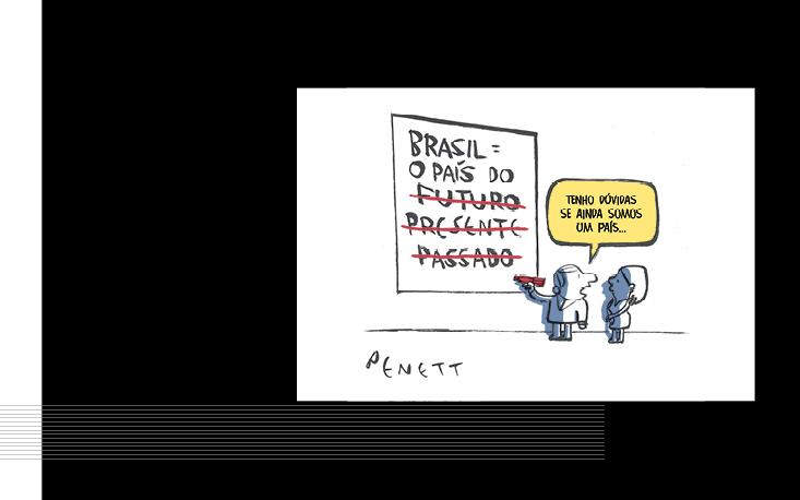 UM BRASIL em charges estreia na Universidade São Judas
