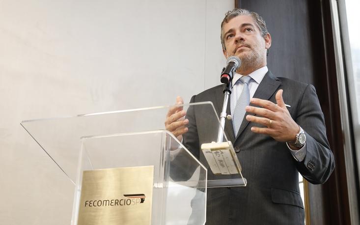 Secretário protagonista no acordo Mercosul-UE se reúne com empresários associados à FecomercioSP